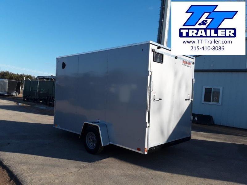 2020 Discovery Rover ET 7 x 12 V-Nose Enclosed Cargo Trailer