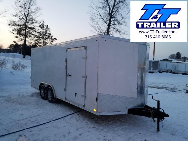 8.5 x 20 V-Nose Enclosed Cargo Trailer