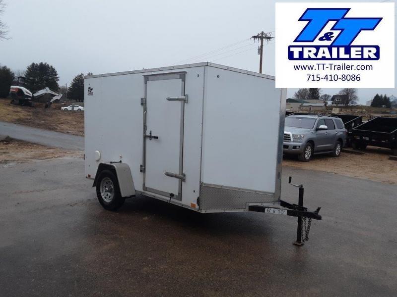 2020 Discovery Rover ET 6 x 10 V-Nose Enclosed Cargo Trailer