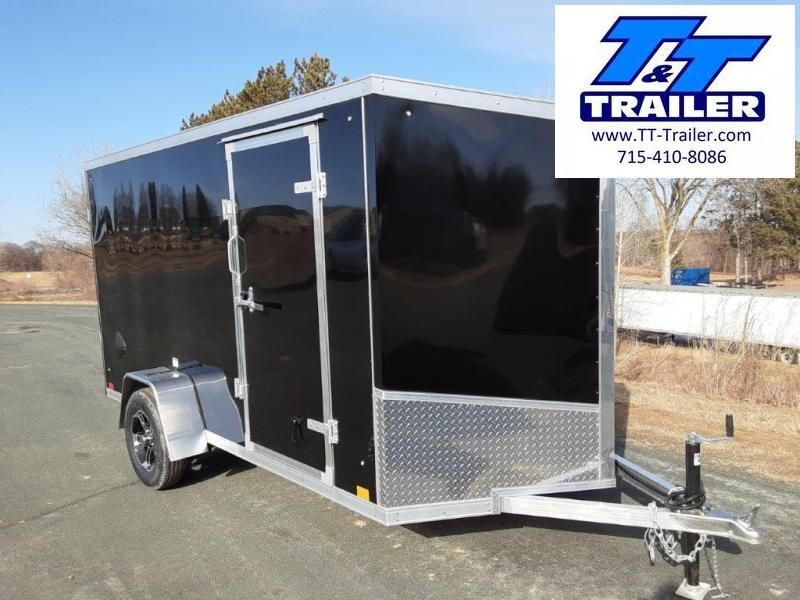 2020 Discovery Endeavor Aluminum 6 x 12 V-Nose Enclosed Cargo Trailer