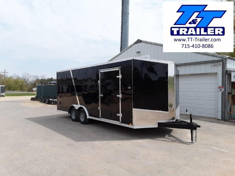 2020 Discovery Challenger SE 8.5 x 20 V-Nose Enclosed Combination Car and Toy Hauler Trailer