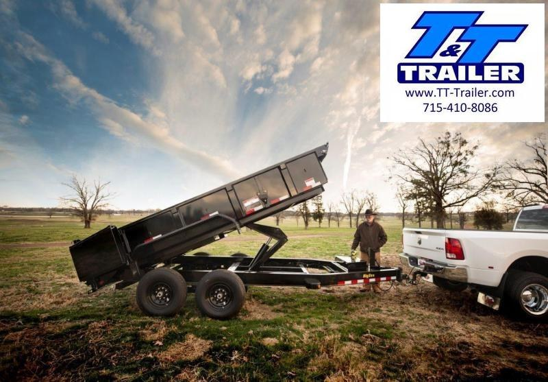 2020 Big Tex 14LP Heavy Duty Extra Wide Low Profile Dump Trailer