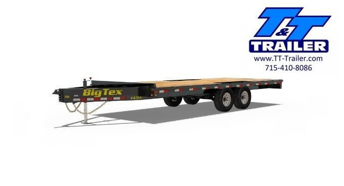 2020 Big Tex 14OA Heavy Duty Deckover Bumper Pull Trailer