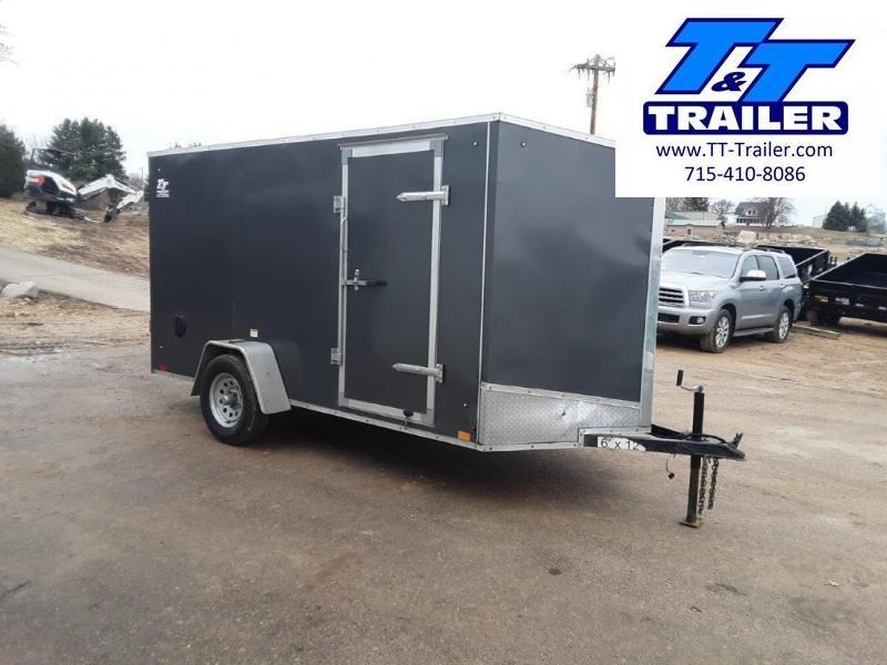 2020 Discovery Rover ET 6 x 12 V-Nose Enclosed Cargo Trailer