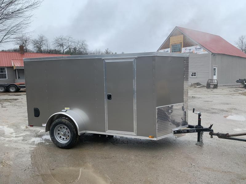 2020 Quality Cargo 5X10 REAR RAMP & SIDE DOOR Enclosed Cargo Trailer