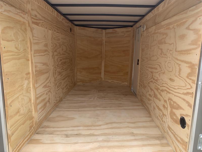 2020 Quality Cargo 5X10 REAR RAMP & SIDE DOOR Enclosed Cargo Trailer