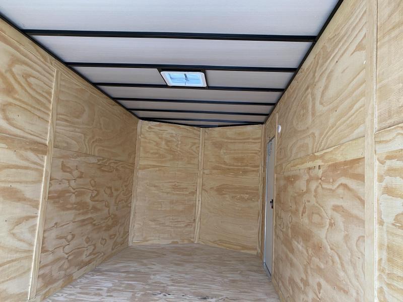 2020 Quality Cargo EXTRA HEIGHT & LADDER RACKS Enclosed Cargo Trailer
