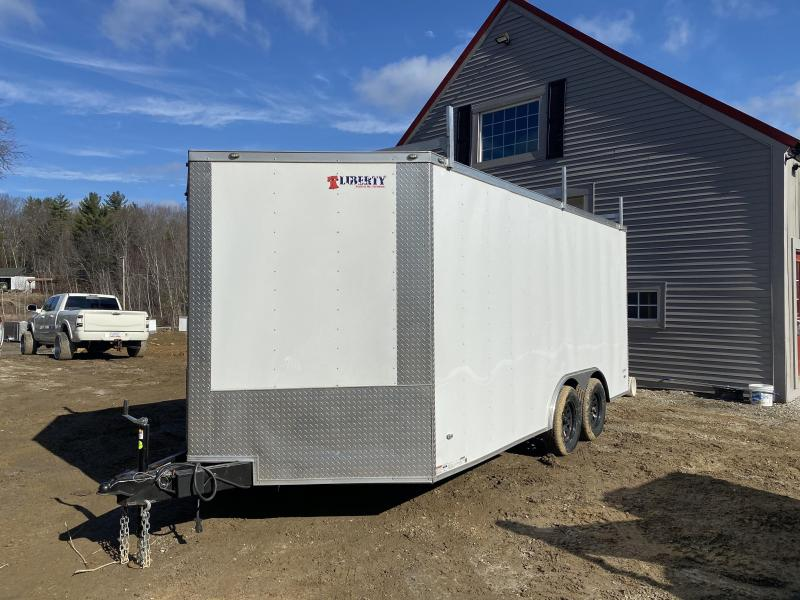 2020 Freedom Trailers 8.5x16 WALK ON ROOF PACKAGE Enclosed Cargo Trailer
