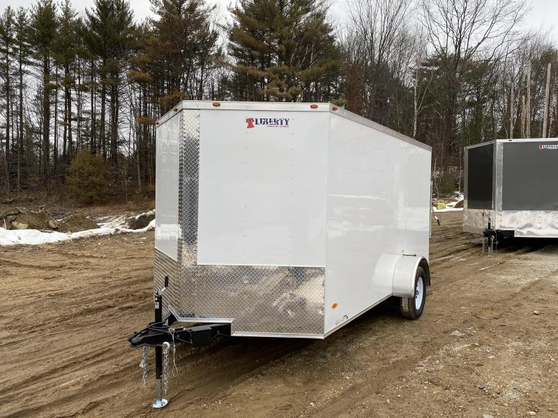 2020 Freedom Trailers 7x12 BRAKES/HD ROOF/BARLOCK Enclosed Cargo Trailer