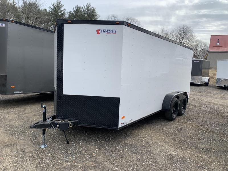 2020 Freedom Trailers 7X16 BLACKOUT PACKAGE Enclosed Cargo Trailer
