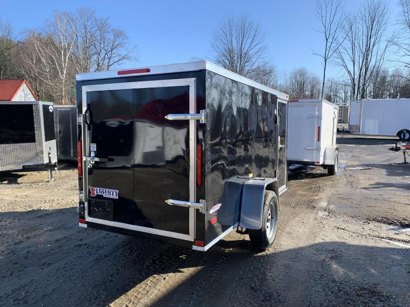 2020 Freedom Trailers 5x10 rear swinging door Enclosed Cargo Trailer