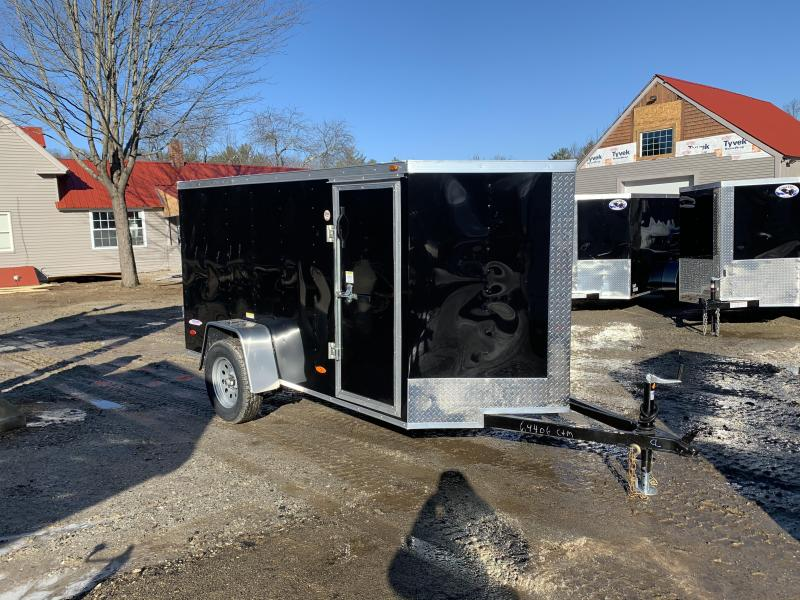 2020 Freedom Trailers 5x10 rear swinging door Enclosed Cargo Trailer