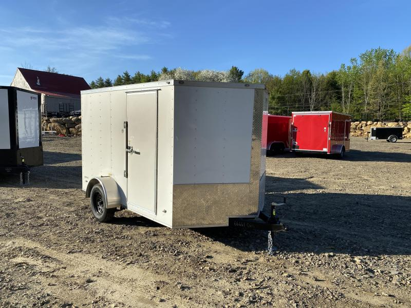 2020 Freedom Trailers 7x10 ramp 16inch roof BRAKES Enclosed Cargo Trailer