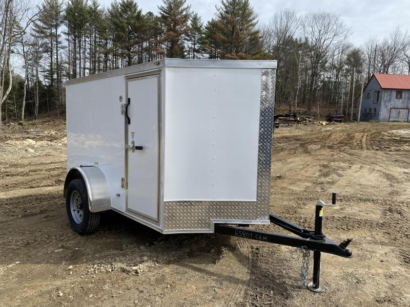 2020 Freedom Trailers 5x8 rear ramp & side door Enclosed Cargo Trailer