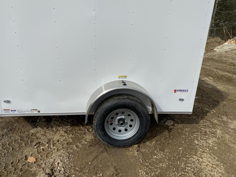2020 Freedom Trailers 5x8 rear ramp & side door Enclosed Cargo Trailer