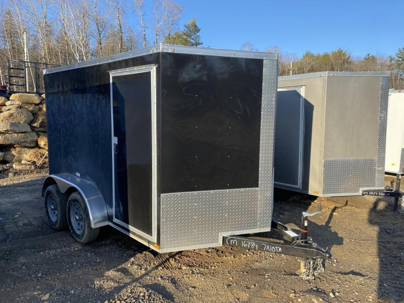 2020 Quality Cargo 7X10 TANDEM AXLE RAMP Enclosed Cargo Trailer