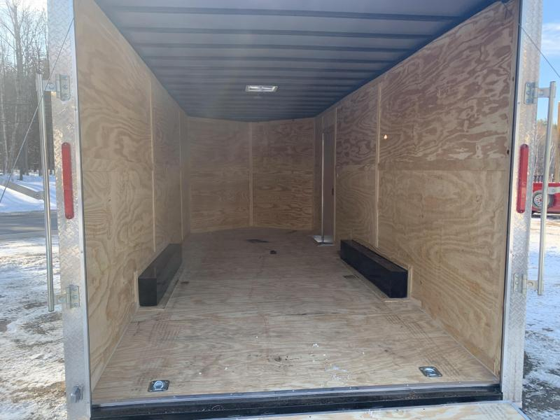 2020 Freedom Trailers 8.6x20 12inches Extra height 5200lb Axles Enclosed Cargo Trailer