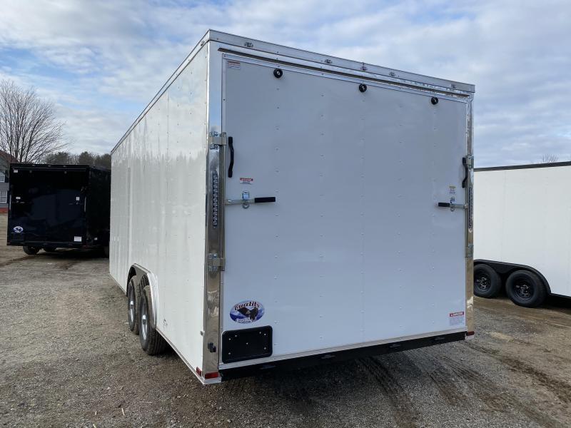 2020 Quality Cargo 8.5x20 9990GVW 7ft interior Enclosed Cargo Trailer