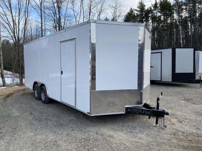 2020 Quality Cargo 8.5x20 9990GVW 7ft interior Enclosed Cargo Trailer