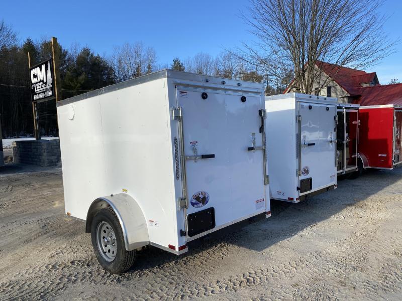 2020 Quality Cargo 5X8 RAMP/SIDE DOOR Enclosed Cargo Trailer