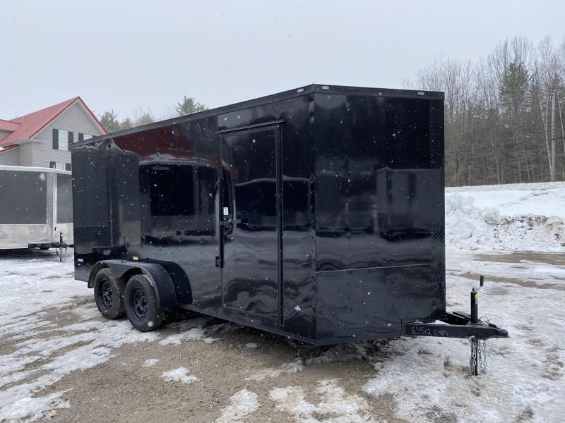 2020 Freedom Trailers 7x16 BLACKOUT EXTRA HEIGHT Enclosed Cargo Trailer