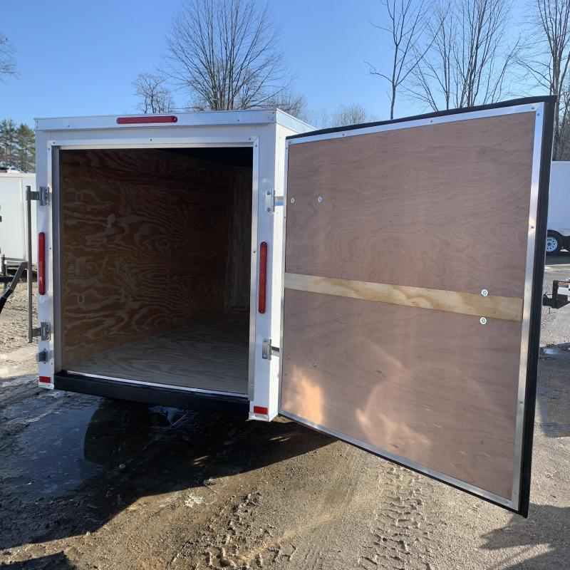 2020 Freedom Trailers 5x8 single swing door Enclosed Cargo Trailer