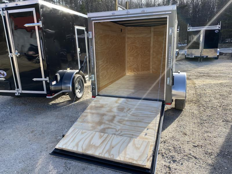 2020 Quality Cargo 5x8 rear ramp and side door Enclosed Cargo Trailer