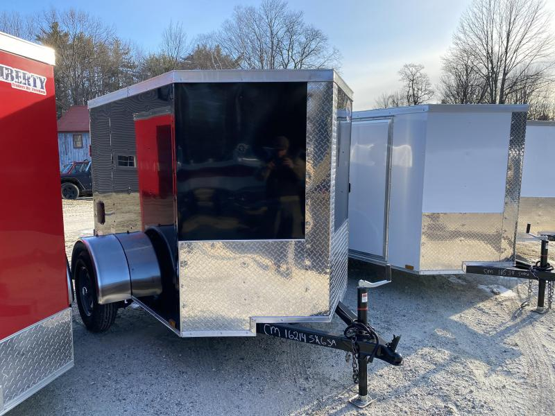 2020 Quality Cargo 5x6 DOUBLE DOORS Enclosed Cargo Trailer