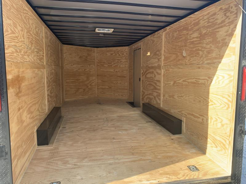 2020 Freedom Trailers 8.5x18 BLACKOUT EXTRA HEIGHT Enclosed Cargo Trailer