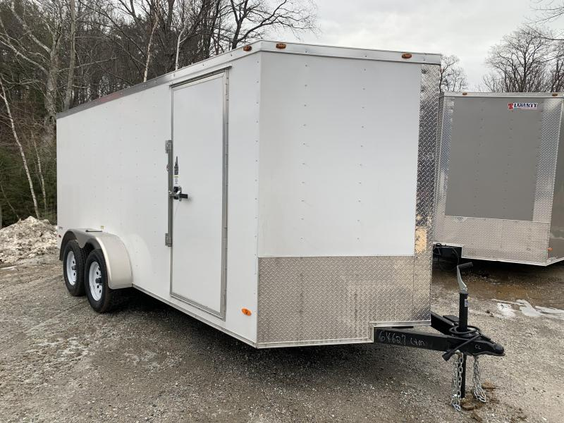 2020 Freedom Trailers 7x16 .30 metal Heavy duty roof Enclosed Cargo Trailer