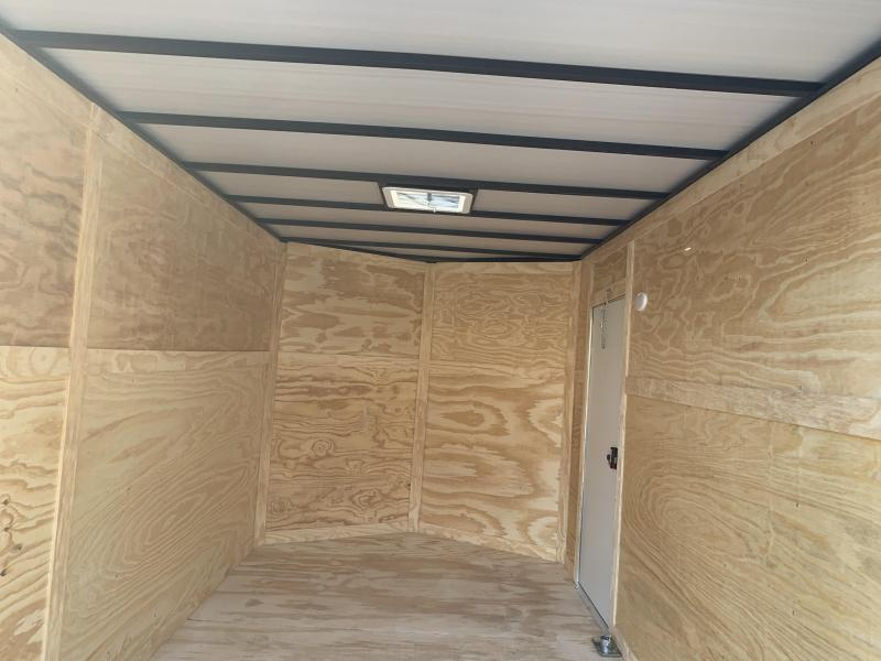 2020 Quality Cargo 7x12TA BRAKES EXTRA HEIGHT Enclosed Cargo Trailer