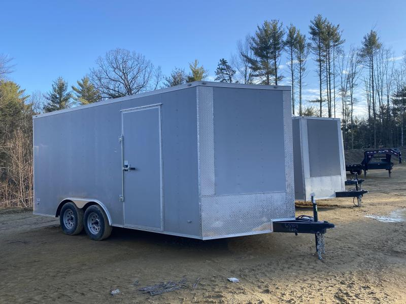 2020 Freedom Trailers 8.5X16 EXTRA HEIGHT 7K GVW Enclosed Cargo Trailer