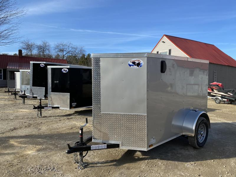 2020 Quality Cargo 5x8 rear ramp & side door Enclosed Cargo Trailer