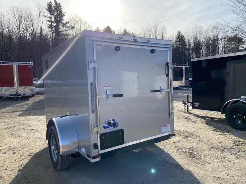 2020 Quality Cargo 5x8 rear ramp & side door Enclosed Cargo Trailer