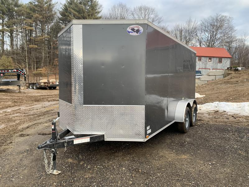 2020 Quality Cargo 7x14 charcoal with ramp Enclosed Cargo Trailer
