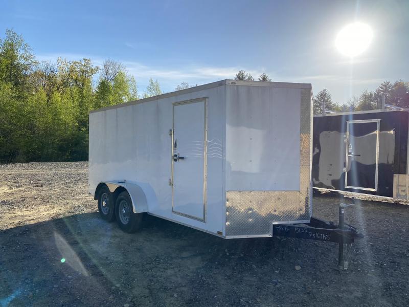 2020 Quality Cargo 7X16 14K GVW HEAVY DUTY Enclosed Cargo Trailer