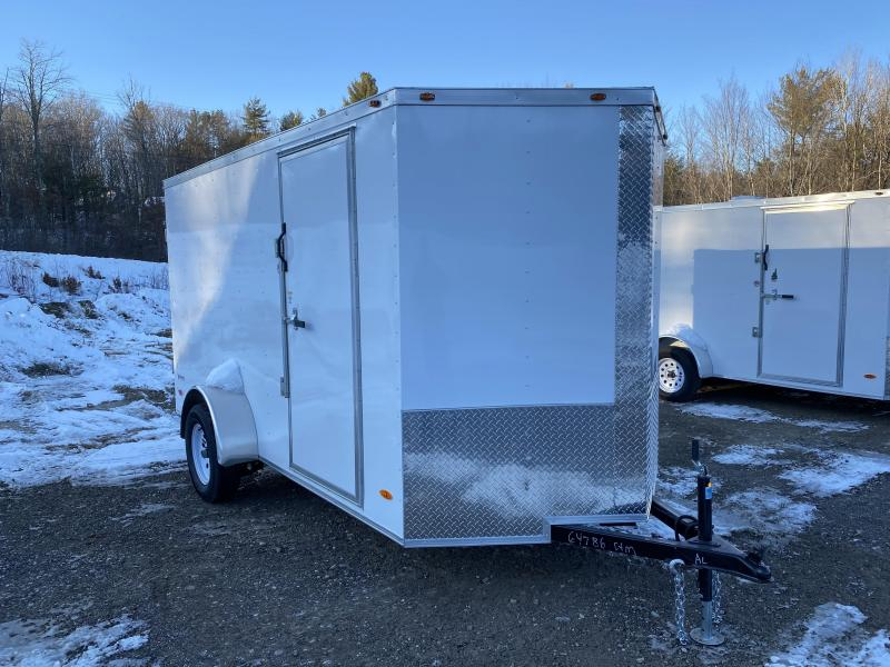 2020 Freedom Trailers 6x12 DOUBLE DOORS Enclosed Cargo Trailer