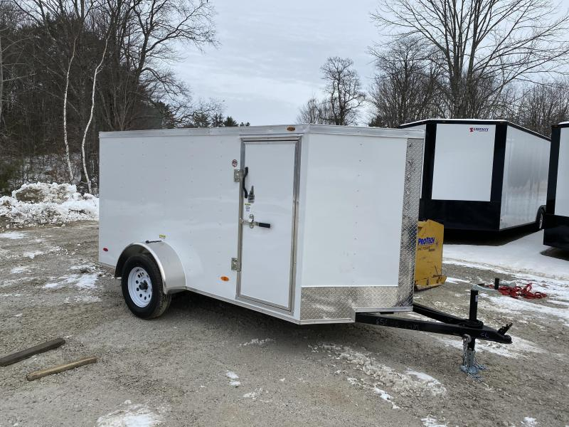 2020 Freedom Trailers 5x10 rear ramp and side door Enclosed Cargo Trailer