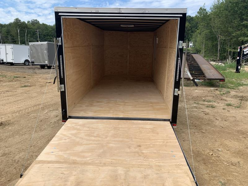 2020 Quality Cargo 7X16 DUAL AXLE REAR RAMP Enclosed Cargo Trailer