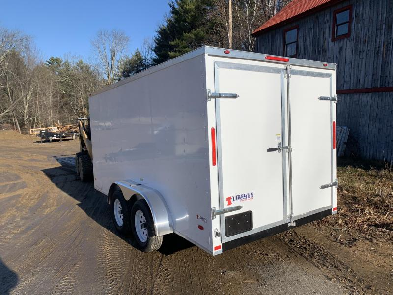 2020 Freedom Trailers 7X14 DOUBLE DOORS Enclosed Cargo Trailer