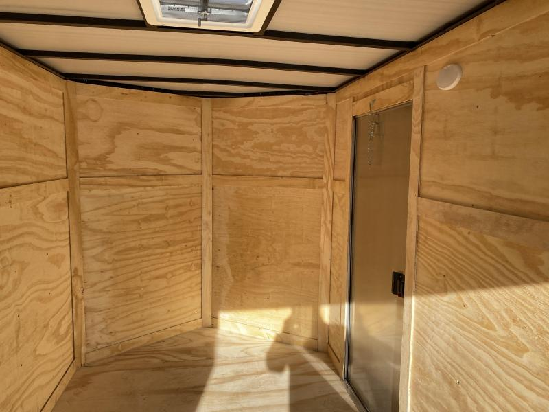 2020 Quality Cargo 6x12 DOUBLE DOORS Enclosed Cargo Trailer