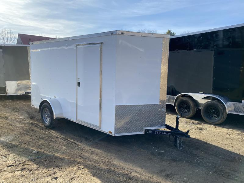 2020 Quality Cargo 6x12 DOUBLE DOORS Enclosed Cargo Trailer