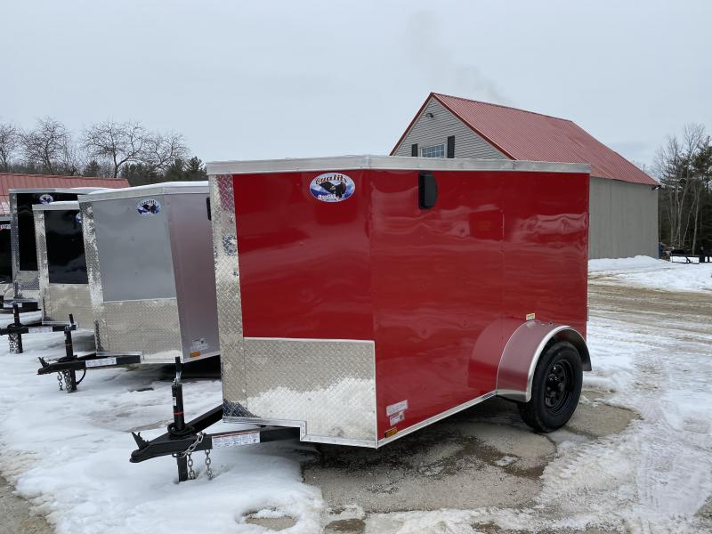 2020 Quality Cargo 5x8 double doors Enclosed Cargo Trailer