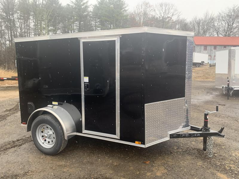 2020 Quality Cargo 5x8 double doors and side door Enclosed Cargo Trailer