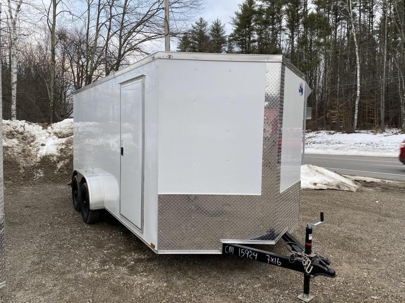 2020 Quality Cargo 7x16 DOUBLE DOORS Enclosed Cargo Trailer