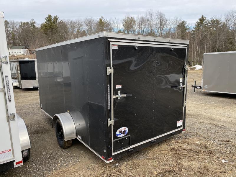 2020 Quality Cargo 7x14SA BLACK ON BLACK Enclosed Cargo Trailer