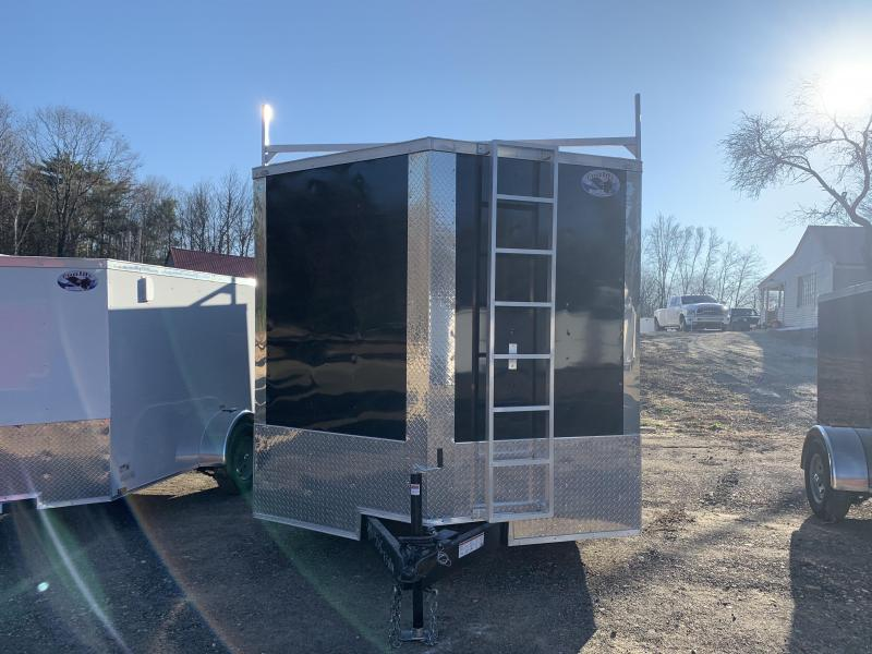 2020 Quality Cargo 8.5x16 CONTRACTOR SPECIAL WALK ON ROOF EXTRA HEIG Enclosed Cargo Trailer