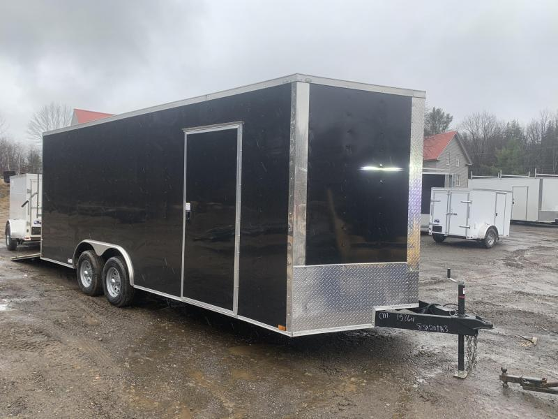 2020 Quality Cargo 8.5x20 5200lb Axles Extra Height Enclosed Cargo Trailer