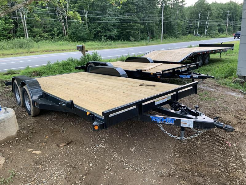 2019 Top Hat Trailers 7x16 7k GVW car hauler Car / Racing Trailer