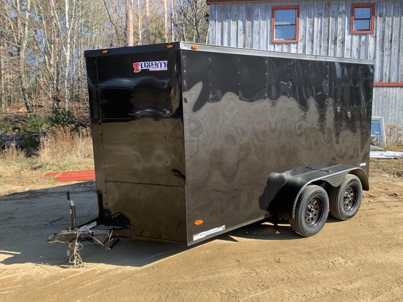 2020 Freedom Trailers 6X12TA RAMP BLACKOUT Enclosed Cargo Trailer